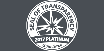 GuideStar Seal of Transparency - 2017 Platinum